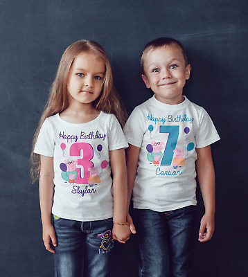 Peppa Pig Children's Birthday T shirt!