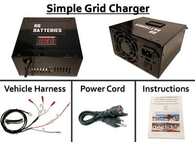 Grid Charger (Opt Discharge) 05 07 Accord Hybrid Restore IMA Battery Performance