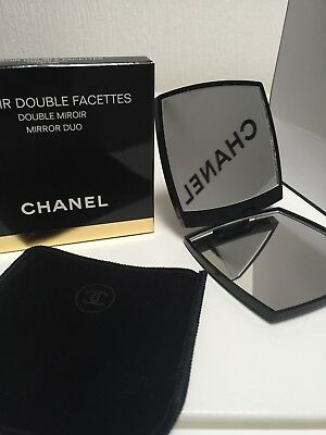 Chanel Spiegel Taschenspiegel Make-up Miroir Double Facettes Duo Neu mit Box