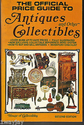 The Official Price Guide to Antiques & Other Collectibles (1980, Paperback)