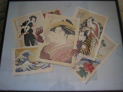 Limited Edition Lithograph Print By Japanese Woodblock Print By Obrian (Rare)