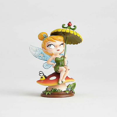 Disney Showcase The World of Miss Mindy Tinker Bell on Mushroom 4058895 NEW NIB
