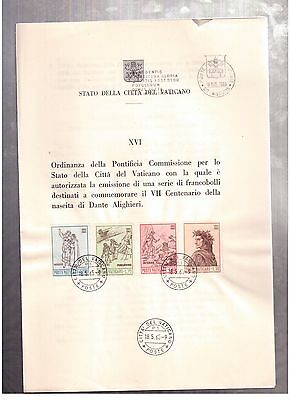 Vatican May 18, 1965, Ordinance Of The Pontifical Committee !!