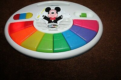 Disney Studios Mickey Mouse Piano Battery Operated Toddler Musical Toy Game