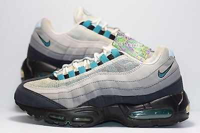 detailed pictures 43437 d5fd9 2009 Nike Air Max 95 Freshwater OG Rare Authentic 8 supreme 90 1 97 609048-