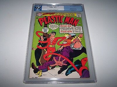 Plastic Man #1 PGX 9.2 OW/W (Like CGC) ~ KANE ~ *First Issue!* ~ *TAKING OFFERS!