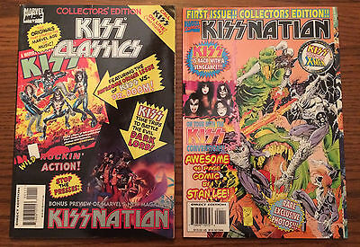 KISS Classics AND KISS Nation FIRST ISSUES TPB / Magazines Marvel Comics 1