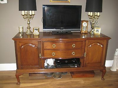 Large Antique Mahogany Sideboard - Collection Only From High Wycombe Area.