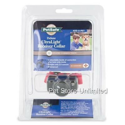 PetSafe In Ground Deluxe UltraLight Fence Collar PUL 275 FREE RFA-67D Batteries