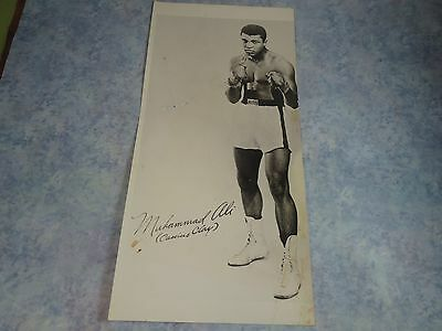 Muhammad Ali Autographed Photo from 1973~~Cassius Clay Era~