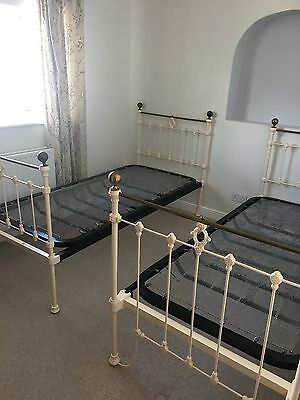 Antique Pair Brass beds
