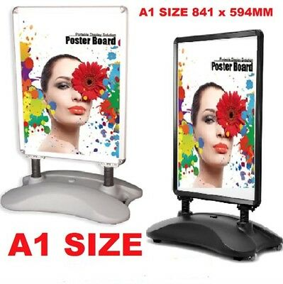New A1 Waterbase Pavement Poster Sign A-Board- Display Stand