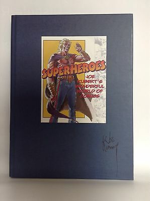 superheroes joe kuberts wonderful world of comics signed by joe kubert hc