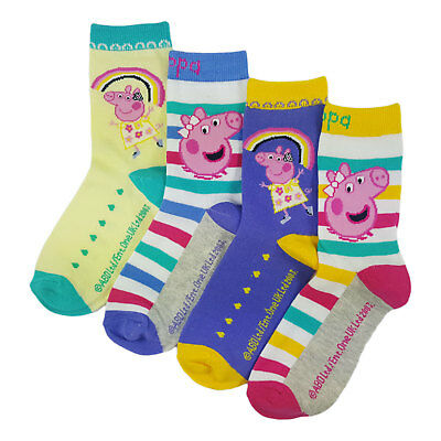 Childs Peppa Pig Socks. Buy More Save More
