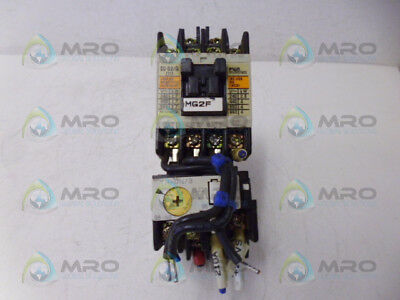 Fuji Sc-03/g Contactor And Tr-On/3 Interlock Unit *used*