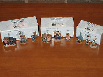 Boyds Bearly-Built Villages Accessories, 9 Piece Set