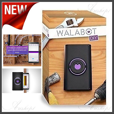 Walabot DIY - In-Wall Imager - see studs pipes wires for Android smartphones..