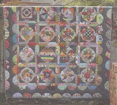 The Circle Game - fabulous applique & pieced quilt PATTERN - Jen Kingwell