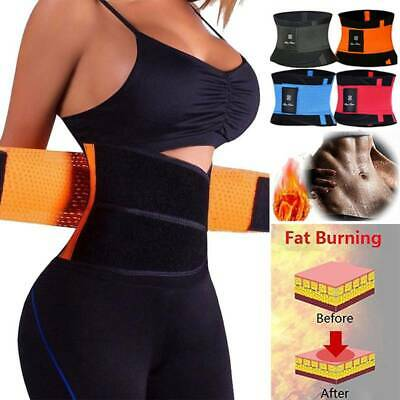 Xtreme Power Belt Hot Power Waist Trainer Body Thermo Shaper Sport Tummy Corset