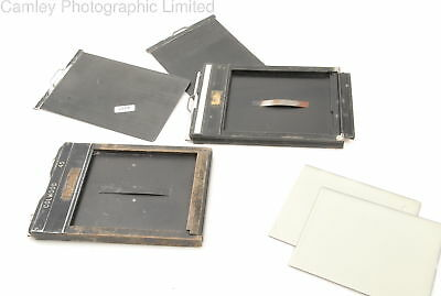 4×5 Glass Plate Film Holder. Condition – 6F [6337]