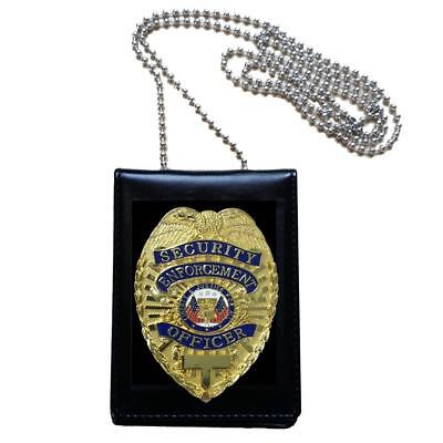 United States Security Enforcement Officer Guard Badge Collection Cosplay Props