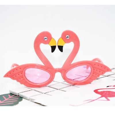 Funny Hawaiian Tropical Flamingo Sunglasses Party Glasses Fancy Dress