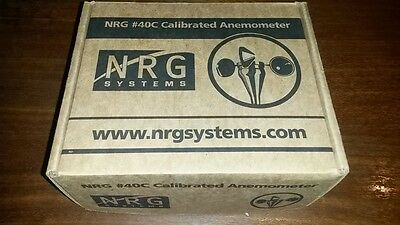NRG SYSTEMS Calibrated Anemometer, #40C, Wind Speed Measurement