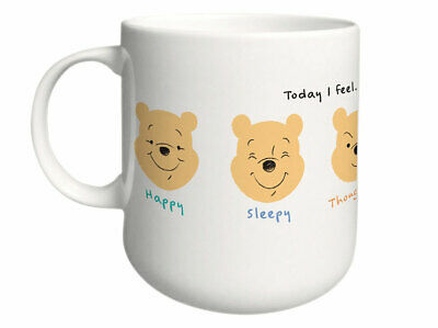 39086 Disney Winnie Puuh Today I feel hungry - Becher Teebecher 350 ml