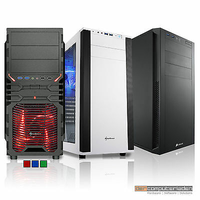AMD Ryzen 3 1200 GTX1060 3GB Gamer Gaming PC System Konfigurator Computer