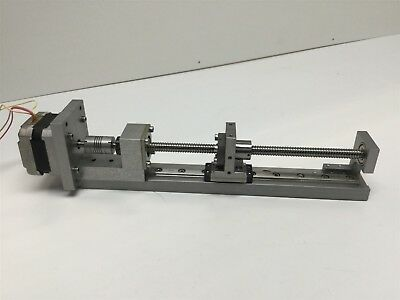Ball Screw with ST4018S1404-A Stepper Motor Linear Rail 2mm Pitch, 140mm Stroke