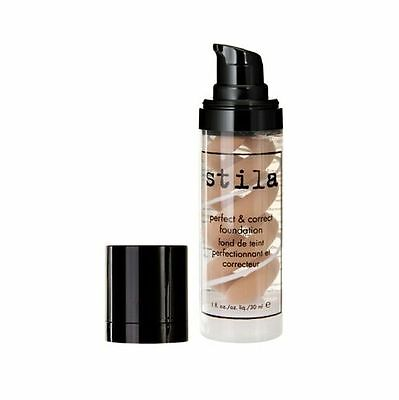 STILA perfect & correct foundation in deep for a youthful flawless complexion