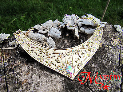 Disney Sleeping Beauty Aurora Princess Crescent Moon Necklace Great For Cosplay