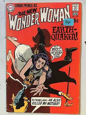 Wonder Woman #163 1966 Silver Age FN Condition Ross Andru