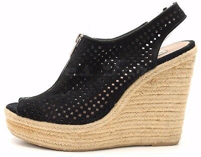 7256ce95ac2 STEVE MADDEN WOMENS Exhibit Slingback Platform Wedge Shoes -  78.56 ...