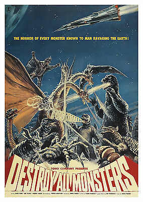 Destroy All Monsters (1968) - A2 POSTER ***LATEST BUY 1 GET 1 FREE OFFER***