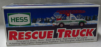 Hess Toy Trucks Vehicles 1994 Recuse Truck New In Box