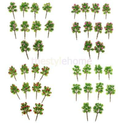 MagiDeal 40x Architectural Landscape Scenery DIY Model Trees Z Scale 1:200