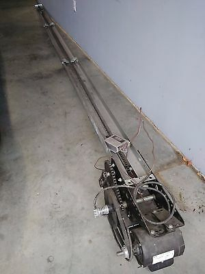 Commercial Garage Door Opener Motor Chain and Rail Assembly 0.5 HP