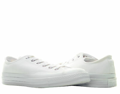 e8ab3621f1f0 Converse Chuck Taylor All Star OX 70  White Monoch Low Top Sneakers 147071C