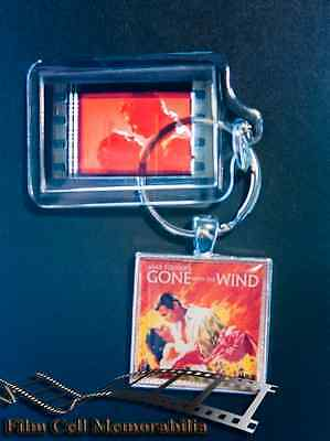 Gone With The Wind - 35mm Film Cell Movie KeyRing and Pendant Keyfob Gift