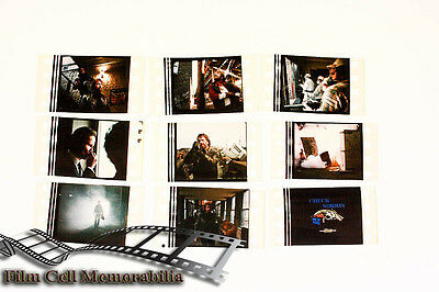 Chuck Norris Code Of Silence - 9pack - 35mm Film Cell Lot movie memorabilia Aus