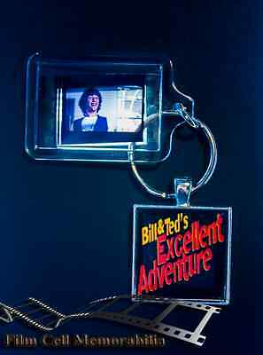 Bill And Ted's - 35mm Film Cell Movie KeyRing and Pendant Keyfob Gift