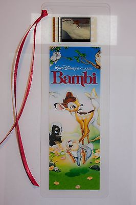 Film Cell Bookmark 35mm - Bambi Memorabilia Gift