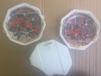 Franklin Mint collector plate The National Fire Museum