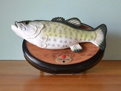 Vintage big mouth Billy Bass fish - not working properly