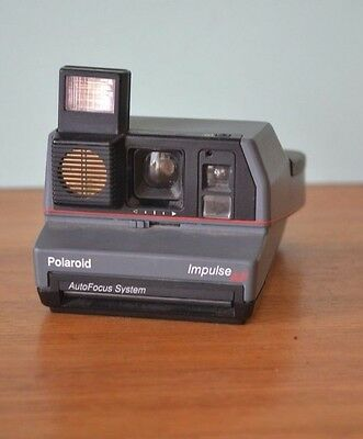 Vintage Polaroid camera impulse