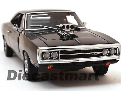 "Dom's 1970 Dodge Charger ""fast & Furious"" 1:18 Diecast Model By Greenlight 19027"
