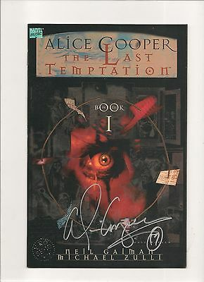 Alice Cooper The Last Temptation #1 2,3NM  #1Signed By Alice Cooper No COA