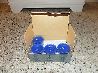 10 Partylite Ocean Mist Tealight Candles-NEW