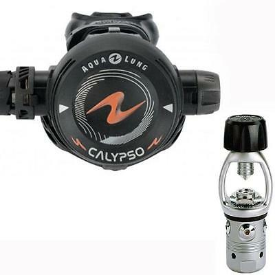 aqualung CALYPSO yoke 1st stage and 2nd stage scuba dive diving regs